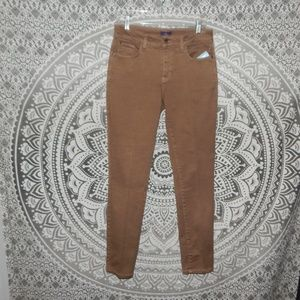 NYDJ Brown Jean Leggings